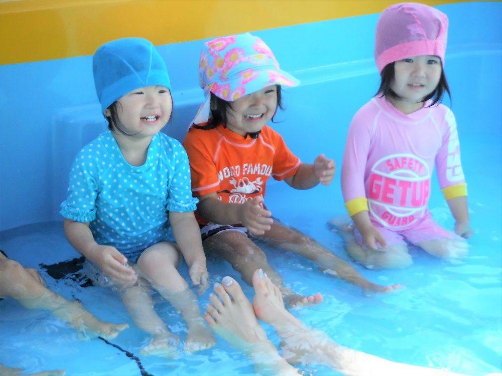 ☆砧保育園☆プールにた~くさん入った夏でした!